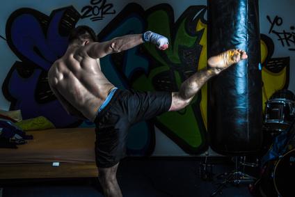 Boxsack Kämpfer